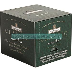 Nat Sherman Classic Menthol Cube cigarettes