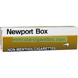 Newport Non-Menthol Gold King Cigarettes