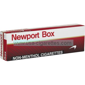 Newport Non-Menthol Red Kings Cigarettes