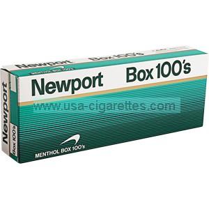 Newport 100's cigarettes