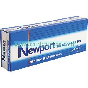 Newport Menthol Blue 100's cigarettes