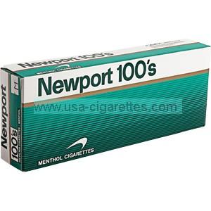 Newport 100's soft pack cigarettes