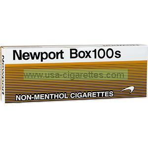 Newport Non-Menthol Gold 100's Cigarettes
