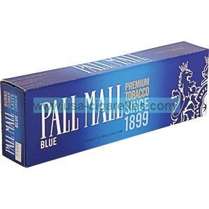 Pall Mall Blue Kings cigarettes
