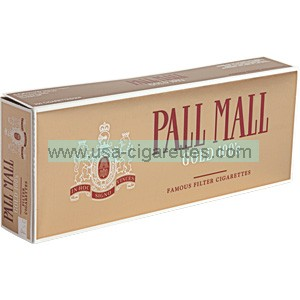 Pall Mall Gold 100's cigarettes