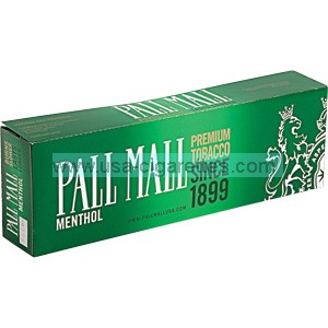 Pall Mall Menthol Kings cigarettes