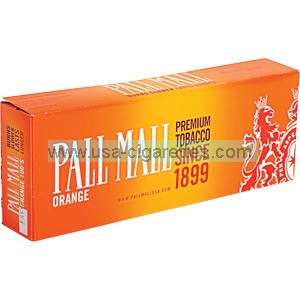 Pall Mall Orange 100's cigarettes