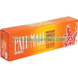 Pall Mall Orange Kings cigarettes