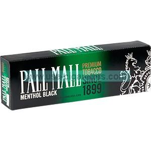 Pall Mall Black 100's Cigarettes