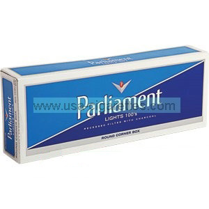 Parliament lights 100's cigarettes