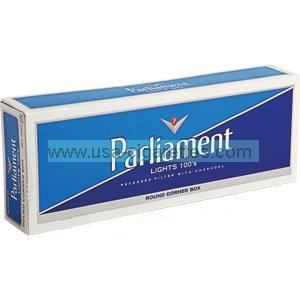 Parliament lights 100's cigarettes