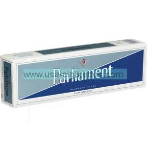 Parliament Silver Pack cigarettes