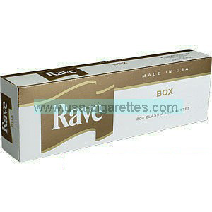Rave Gold Kings cigarettes