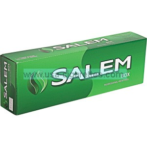 Salem Kings box cigarettes