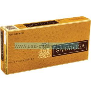 Saratoga 120's cigarettes