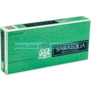 Saratoga Menthol 120's cigarettes