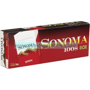 Sonoma Red 100's cigarettes