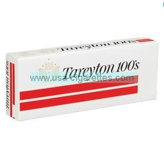 Tareyton 100's cigarettes