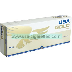 USA Gold Gold 100's CIGARETTES