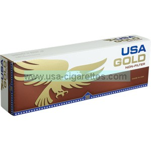 USA Gold Non-Filter Cigarettes