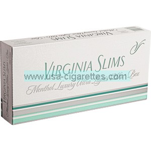 Virginia Slims 120's Menthol Silver cigarettes