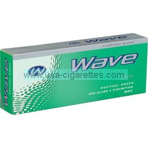 Wave Menthol Green 100's cigarettes