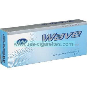 wave Silver 100's cigarettes
