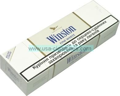 Winston Fine White Cigarettes