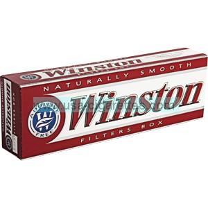 Winston Red 85 box cigarettes