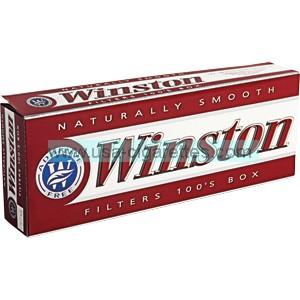 Winston Red 100's box cigarettes