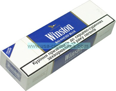 winston balanced blue cigarettes