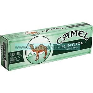 Camel Menthol box cigarettes