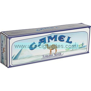 Camel Turkish Silver King box cigarettes