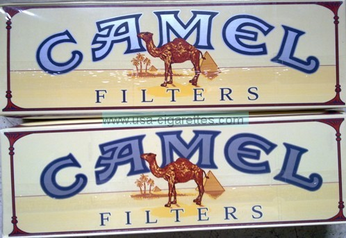 camel filters kings cigarettes