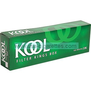 Kool Kings box cigarettes