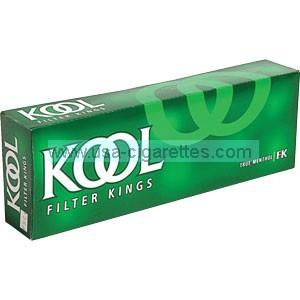 Kool Kings soft pack cigarettes
