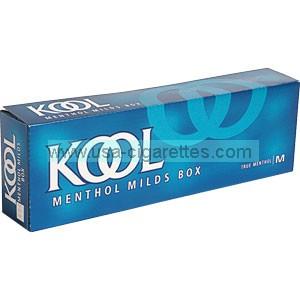 Kool Menthol Blue 85 box cigarettes