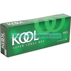 Kool 100's box cigarettes
