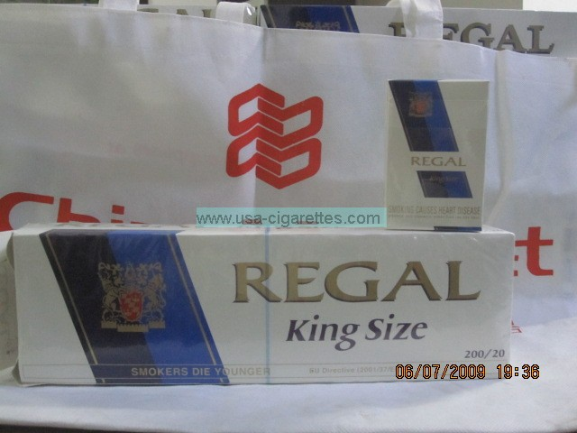 regal king size cigarettes